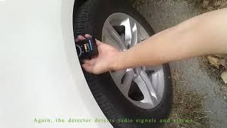 Anti-spy Camera Bug RF Detector
