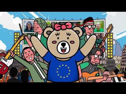EU Choir & The Rain