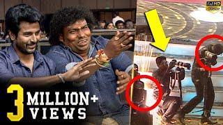 Sivakarthikeyan & Yogi Babu save Cameraman! Funny & Unseen Candid Moments - Uncut Footages!