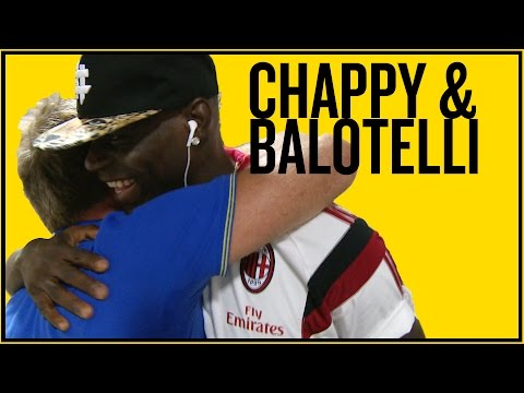BALOTELLI v CHAPPY | Selfies Penalties And A Missing Earring!