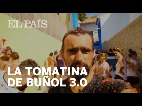 Así se vive un día en La Tomatina