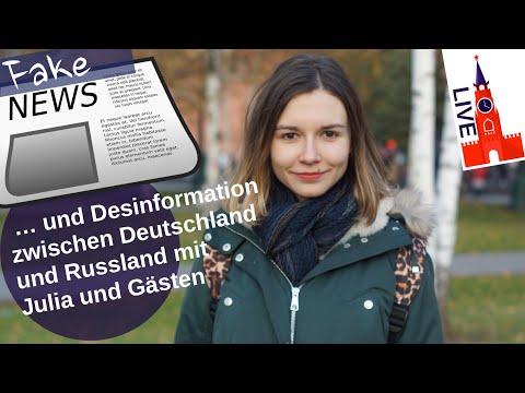 Fakenews und Desinformation zwischen Deutschland und Russland (Livetalk)