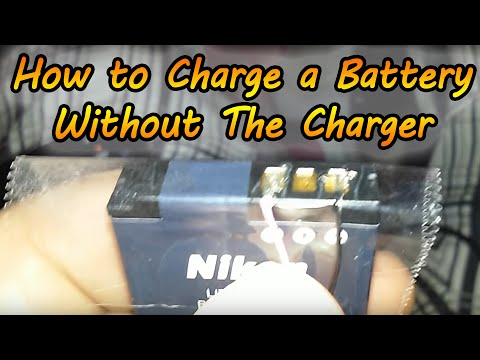How to Charge a Battery Without a Charger - Charge Any Battery With Only a USB Cable
