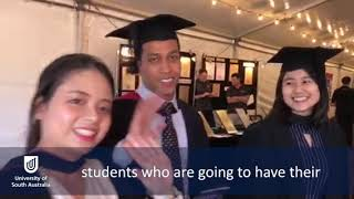 Share Amanda's graduation experience