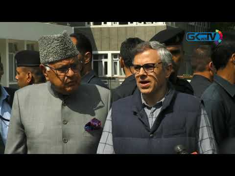 Hope assembly polls are held soon, says Omar after casting vote
