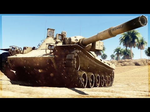 50,000 players used to play this tank...now it's a ghost tank (War Thunder)