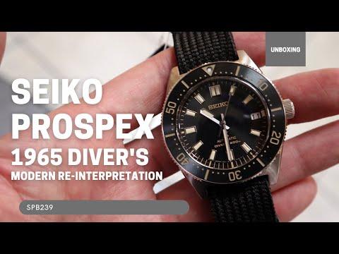 Seiko Prospex Diver's 1965 Re-Issue SPB239J1