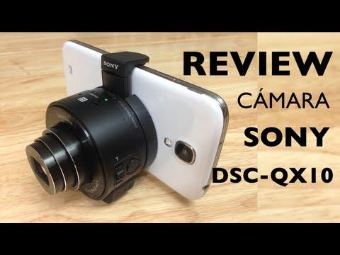 Cámara / Lente Sony Cybershot DSC-QX 10 Review