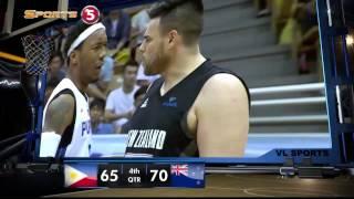 Philippines vs. New Zealand - Q4 | JONES CUP 2015