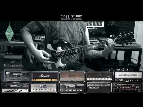 Kemper Profiling Amp: 10 Hi-Gain Amp shootout with ESP Guitars