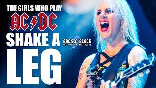 Shake a Leg LIVE Pro shot - BACK:N:BLACK - The Girls who play AC/DC