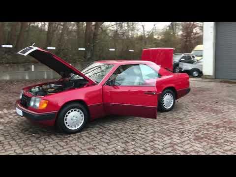 video Mercedes-Benz CE 300 E-Klasse Coupe 1. Hd. sehr gepflegt