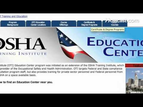 How to Get OSHA Certification - YouTube
