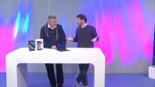 """TOUCHLET 8"""" Tablet-PC XWi.8 mit IPS-Display und Windows 8.1"""