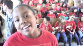 """PS22 Chorus """"The Greatest Love of All"""" Whitney Houston"""