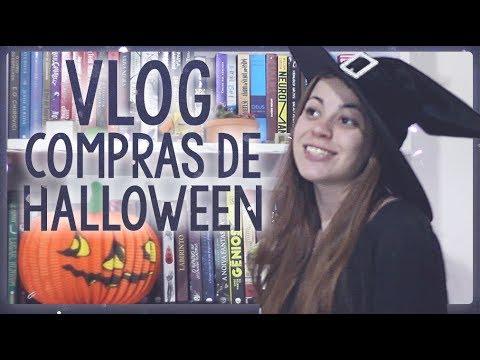 VLOG | Compras de Halloween e troca no sebo