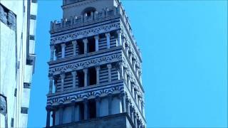 preview picture of video 'Campane del Duomo di Pistoia in Toscana / Cloches du Dôme de Pistoia en Toscane : Angelus'