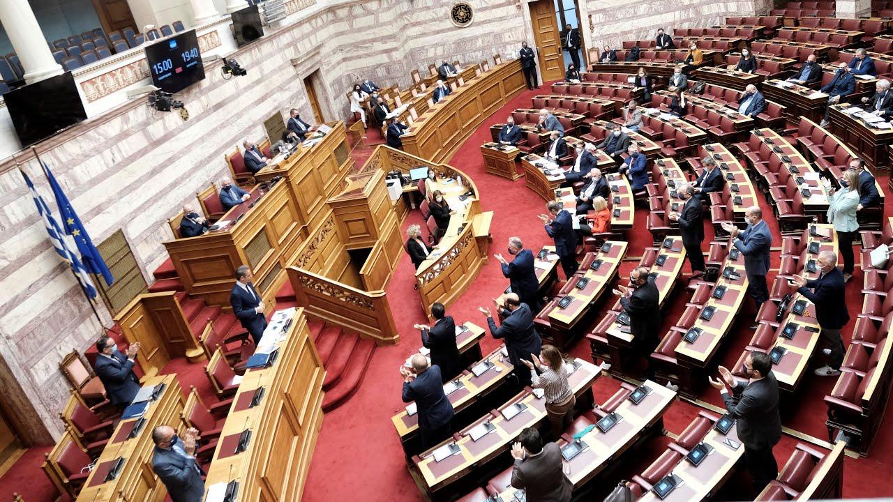 Δευτερολογία στη Βουλή για την κυβερνητική πολιτική σχετικά με την αντιμετώπιση της πανδημίας