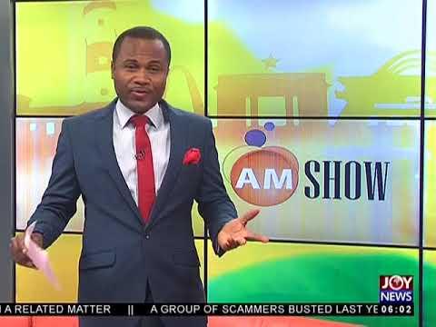AM Show Intro on JoyNews (25-4-18)