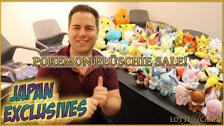 MEGA Pokemon Plüschie Sale! Japan Exclusives/Pokemon Center & uvm!