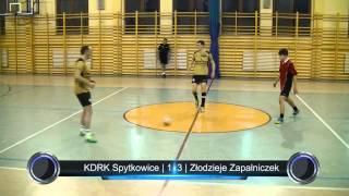 preview picture of video 'KDRK Spytkowice - Złodzieje Zapalniczek | Podhalańska Liga Futsalu | 11.01.2014'