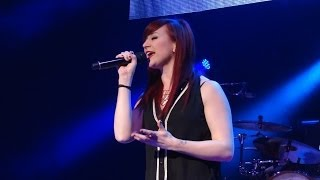 """Jen Ledger Singing """"Born Again"""" With Third Day 32314"""