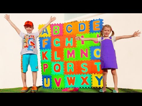 ABC song with kids