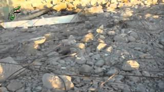 preview picture of video 'الشيخ سعد-هدم مقام النبي أيوب عليه السلام جراء القصف'