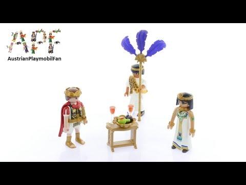 Vidéo PLAYMOBIL History 5394 : César et Cléopâtre