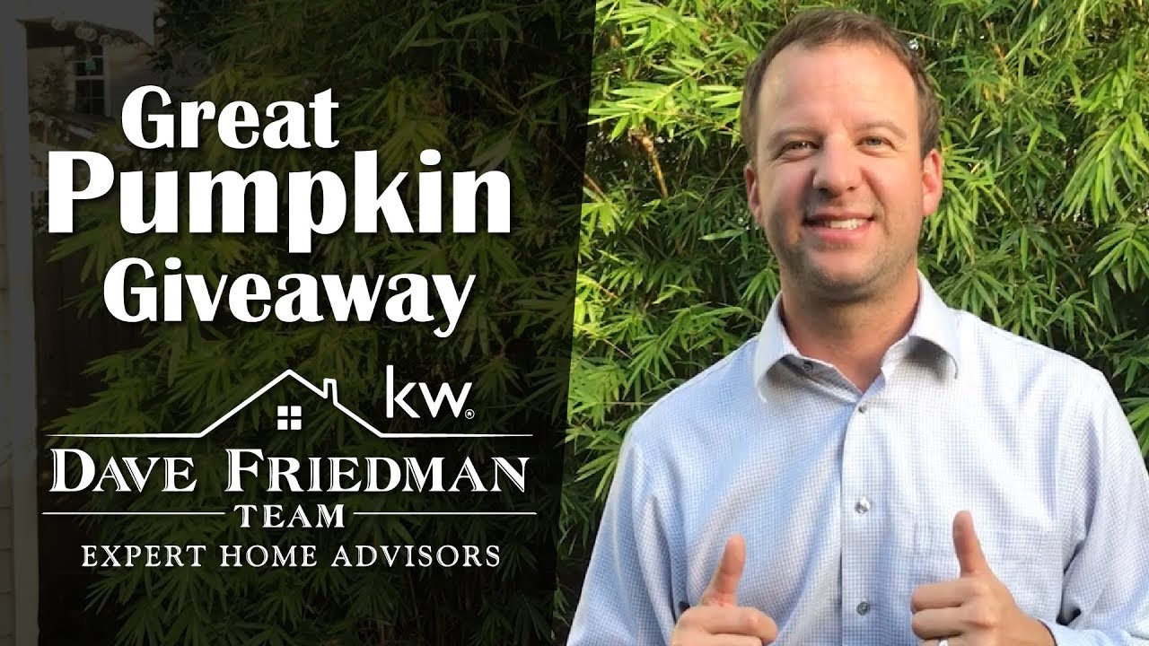 You're Invited to Our First-Ever Great Pumpkin Giveaway