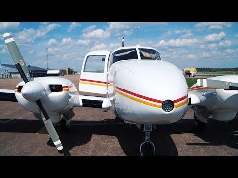 Piper PA23 Aztec First Testflight after Overhaul