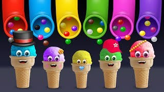Ice Cream Finger Family Song | Daddy Finger Rhyme