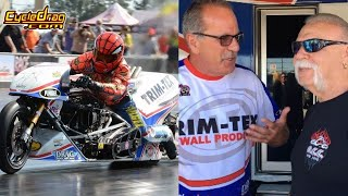 246 MPH on a Motorcycle in front of Paul Teutul & Orange County Choppers! Larry