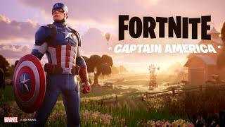 Captain America Arrives   Fortnite