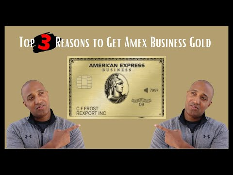 Amex Business Gold Card 2020 | Key Benefits for the American Express Business Gold Card