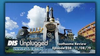Toothsome Chocolate Emporium & Savory Feast Kitchen Review | Universal Edition | 11/08/19