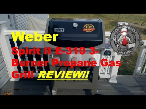 Weber Spirit II E-310 3-Burner Propane Gas Grill (with igrill3) Review