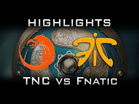 TNC vs Fnatic - First SEA slot at TI7 The International 2017 Highlights Dota 2