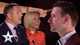 Unforgettable Audition: Richard Jones SHOCKS Judges with MIND-READING magic!   Britain's Got Talent