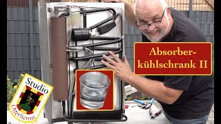 Absorberkühlschrank Wohnmobil Wohnwagen Kühlleistung wieder herstellen