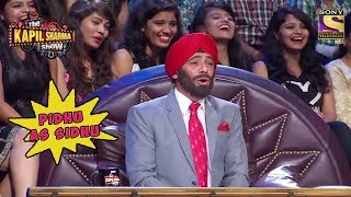 Sunil Grover aka Pidhu As Navjot Singh Sidhu - The Kapil Sharma Show