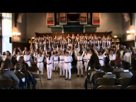Junior Girls' Christmas Performance - Angels' Song