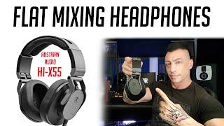 MixbusTV Reviews the new Austrian Audio Headphones Hi-X55