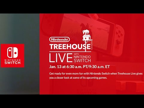 Nintendo Switch Treehouse LIVE 2017