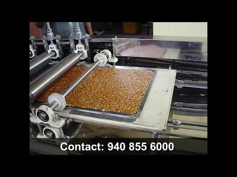 CH-REG-35 Semi-Automatic Chikki Rolling and Cutting Machine