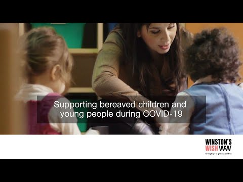 Screenshot of video: Supporting children during the Covid period