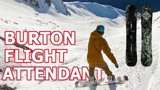 Burton Flight Attendant Snowboard Review