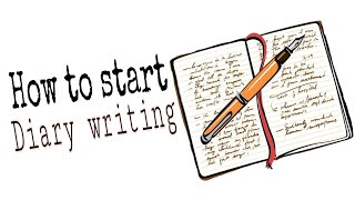 7 tips to start DIARY WRITING for beginners  How to start diary writing  Diary writing ideas   Diary