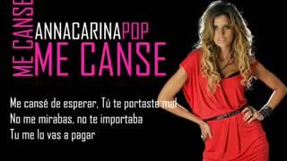 Anna Carina - Me canse (Video y audio Full HD) 2da parte