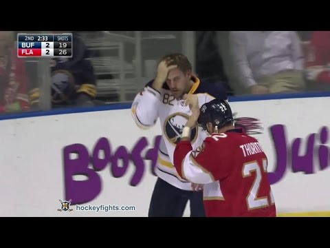 Shawn Thornton vs. Marcus Foligno